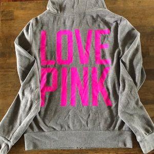 Victoria's Secret zip up hoodie